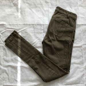 Army Green Stretch Pants
